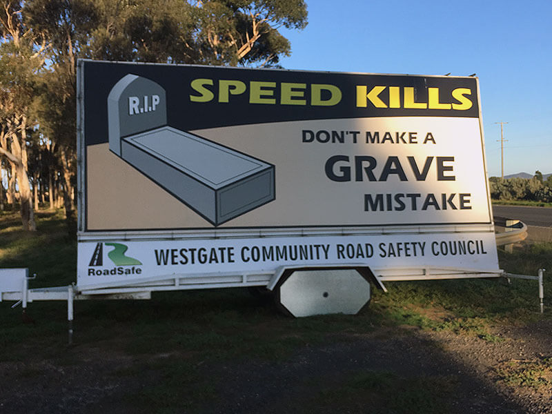 Speed and Reporting Speeding Drivers | RoadSafe Westgate